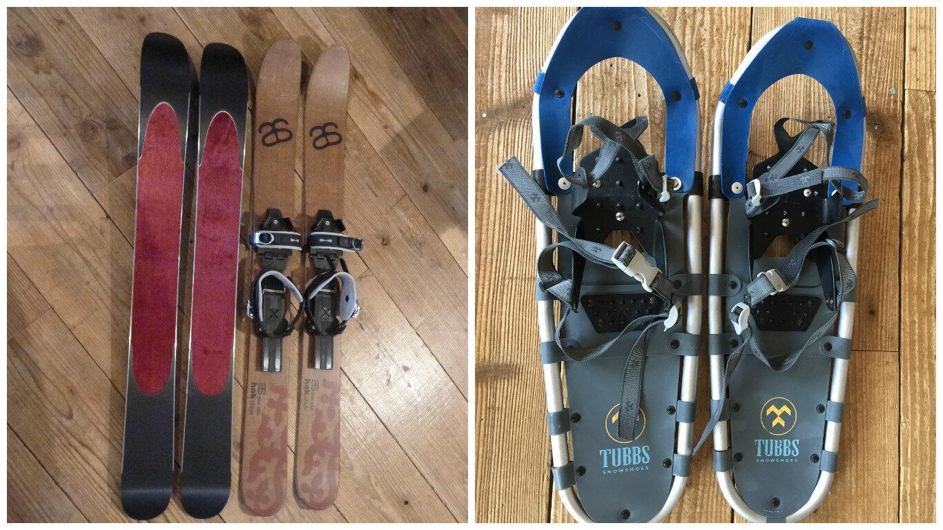 snowshoe-skishoe
