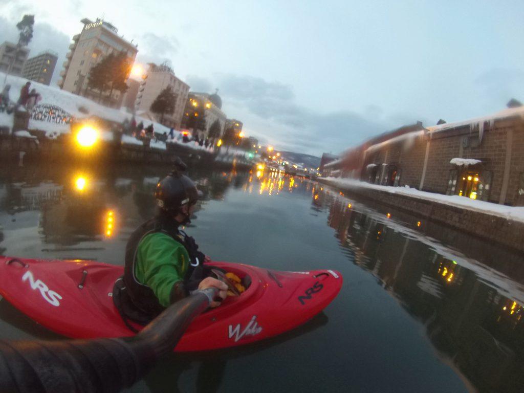 yukiakarinomichi-kayak