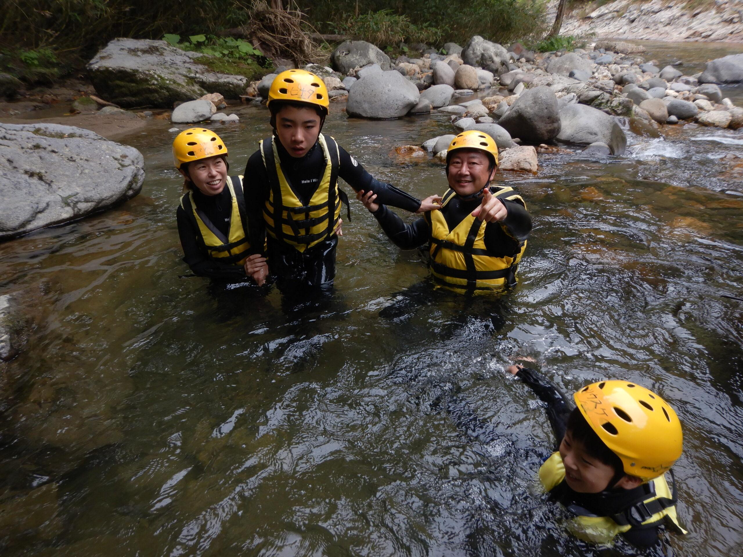 camp-canyoning