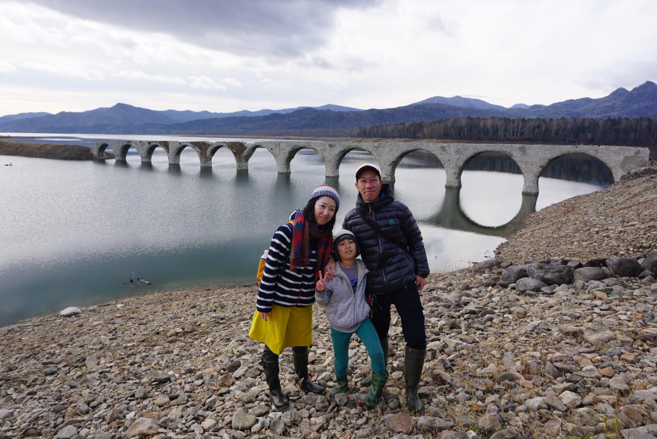 タウシュベツ川橋梁めがね橋